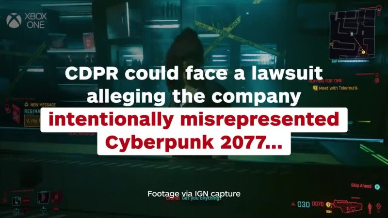 Cyberpunk Lawsuit