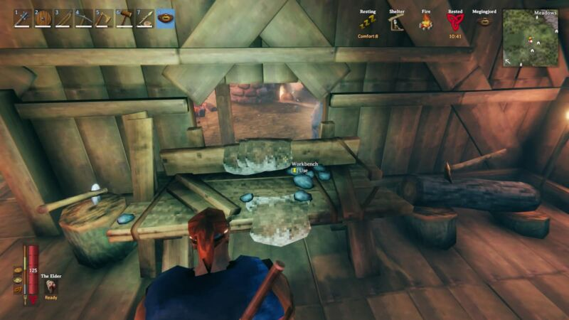 Upgrade Workbench in Valheim