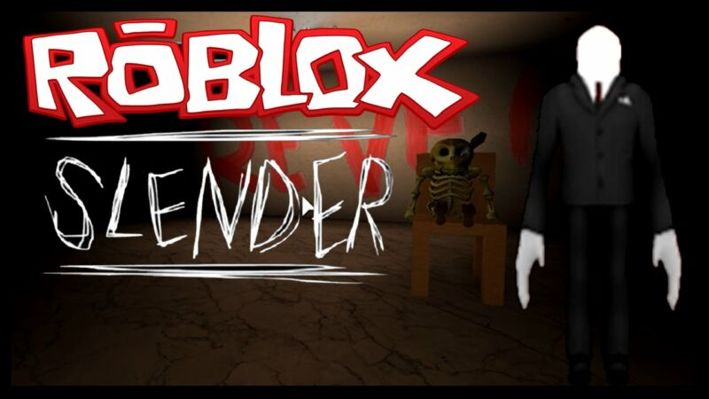 Best Scariest Games on Roblox, Stop It, Slender