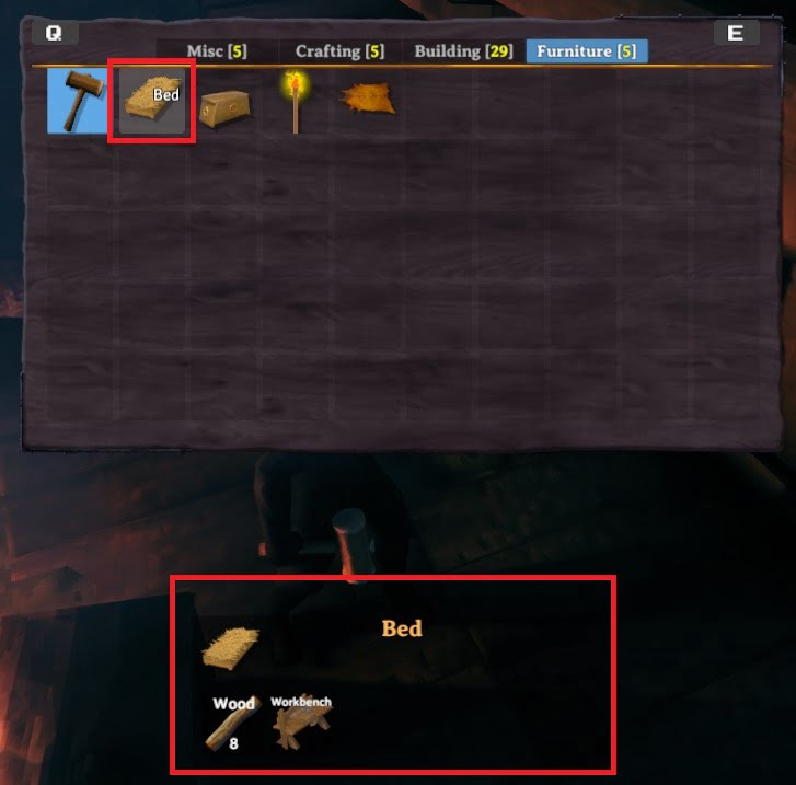how to build a bed in valheim 4