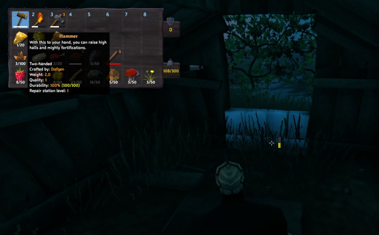 how to build a workbench in valheim