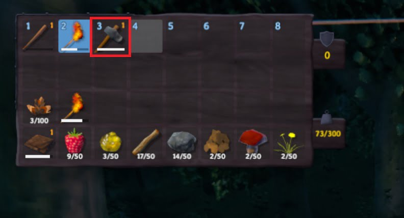 how to craft stone axe in valheim 6