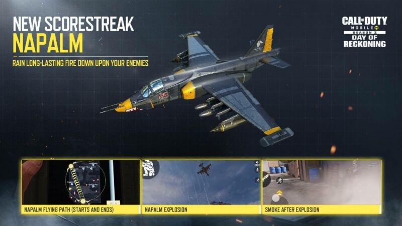Call Of Duty Season 2 And Napalm Scorestreak Date Release