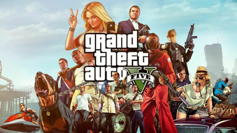Best PC Video Games, Grand Theft Auto V