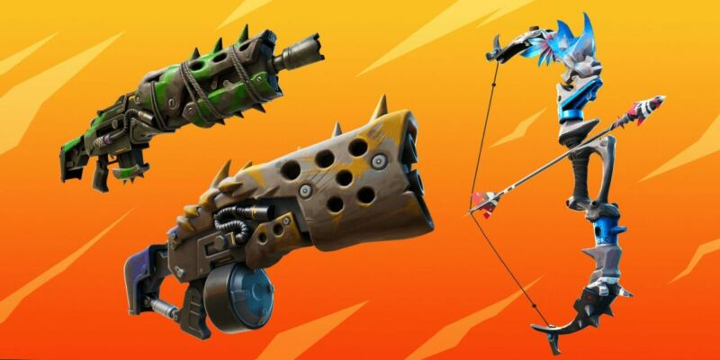 All New Weapons In Fortnite Season 6