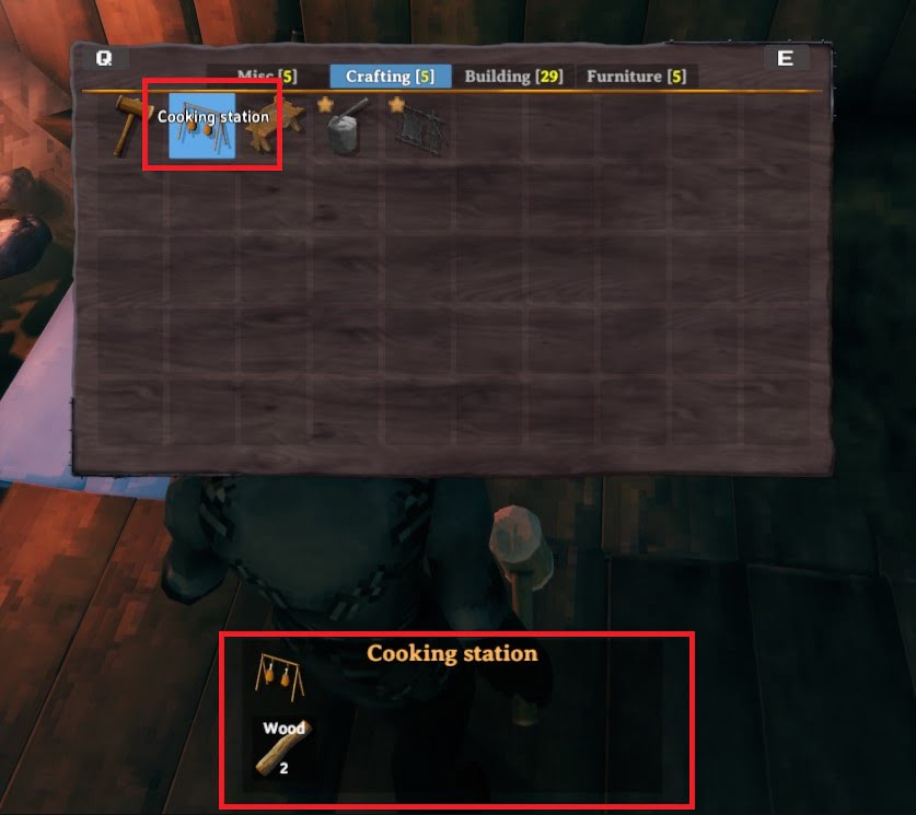 how to build a cooking station in valheim 3