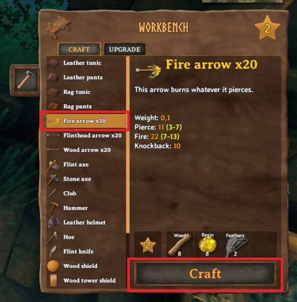 How To Craft Fire Arrow In Valheim 4
