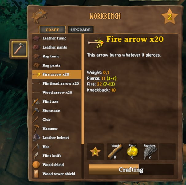 How To Craft Fire Arrow In Valheim 5