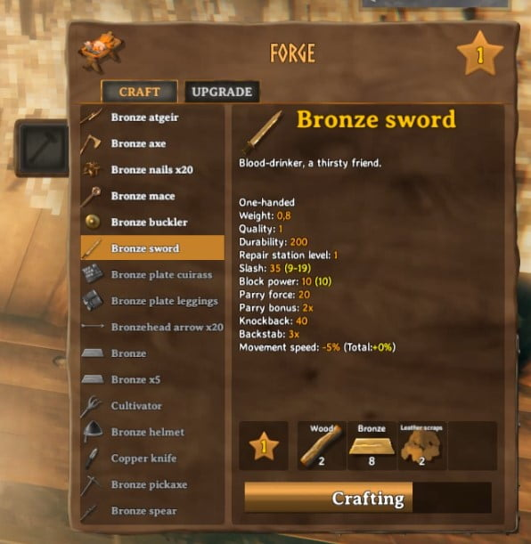 How To Make Bronze Sword In Valheim 5