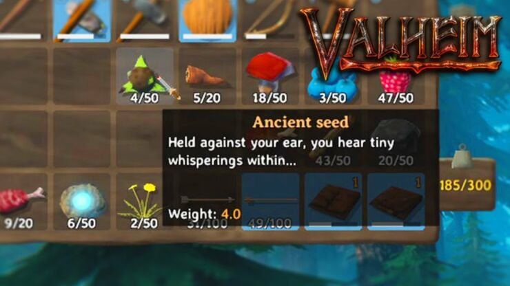 How To Get Ancient Seed Valheim