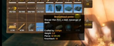 How To Make Bronze Arrow In Valheim
